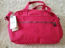 Kipling New Weekend Travel Carry-On Tote Shoulder Bag Vibrant Pink Large Monkey