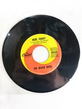 The Beach Boys Darlin' Here Today 45 Record Capitol