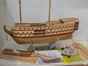 Modellbau Admiral Nelsons HMS Victory DeAgostini - Rumpf Schiff teils gebaut