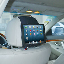 TFY Universal Car Headrest Mount Holder for 18cm to 28cm Tablet PC - Apple iPad