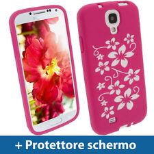 Cover e custodie rosa semplice per Samsung Galaxy S4