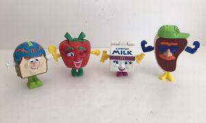 Dietetic Association McDonald's Toys Milly, Slugger, Otis, Ruby '93 Changeables