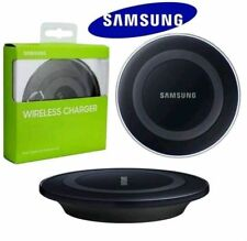 Samsung Galaxy S6 S6+ S7 Edge IPHONE X QI Wireless Charger Charging Pad Plate UK