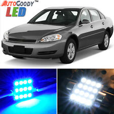 9 x Premium Blue LED Lights Interior Package for Chevy Impala 2006-2013 + Tool