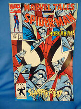 Marvel tales spiderman Hobgoblin #258 comic book 1991 Marvel superhero Shattered