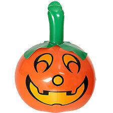 NUOVO Gonfiabile Zucca 46cm Halloween Streghe spettrale decorazione