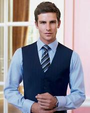 Button Wool Business Big & Tall Waistcoats for Men