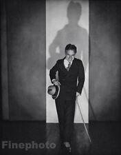 1925/63 Vintage 11x14 CHARLIE CHAPLIN Movie Film Actor Comedy By EDWARD STEICHEN