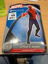 MARVEL COMICS Spider-Man Adult Basic Cosplay Costume Morphsuit, XXL
