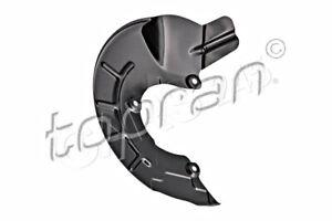 Black Front Right Brake Disc Splash Panel TOPRAN Fits SKODA VW Citigo 6R0615312