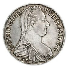 AUSTRIA Maria Theresia (1740-1780) Thaler Tallero 1780 Milano Hafner H36A