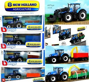 New Holland Agriculture Farm Tractors Various Scales Die-cast Model Toys CHOOSE