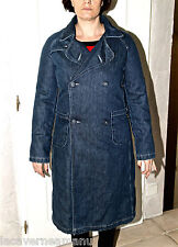 manteau hiver long en jeans brut DIESEL modèle denso-fall T L (40)  état neuf