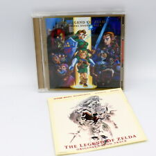 The Legend of Zelda Ocarina of Time CD Original Soundtrack Japan Game 1998 Rare