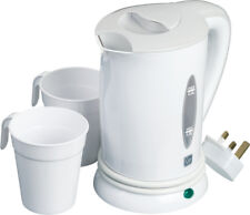 Go Travel Compact Fast Boiling Dual Voltage Portable Kettle with Cups  (Ref 690)