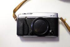 Fujifilm X series X-E1 16.3MP Digital Camera - Black (Body Only)