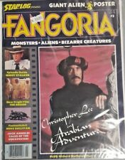 FANGORIA AND MARVEL MOVIE MAGAZINE LOT OF 11 BOOKS HORROR ACTION SCI FI