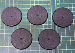 WH40K/AOS 50mm Round Bases x5