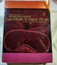 Bath and Body Works Eye Mask & Neck Wrap