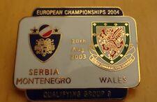 SERBIA MONTENGERO WALES  EUROPEAN CHAMPIONSHIP  QUALIFYING GROUP 9 20-08-03