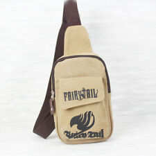 New Anime Fairy Tail Cosplay Canvas Traveling Bag Small Chest Bag School Bag