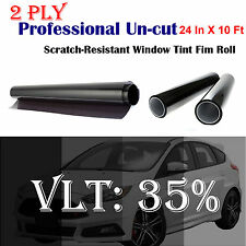 TINTGIANT PRECUT SUN STRIP WINDOW TINT FOR BMW X5 00-06