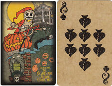 2011 Disney Parks The Nightmare Before Christmas Playing Card -- 8 of Spades