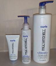 Paul Mitchell Curls Trio - Shampoo, Leave-In Treatment, Texture Cream Gel