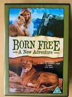 Born Gratuito A Nuovo Avventura DVD 1996 Africa Leone Famiglia Drama Film Sequel