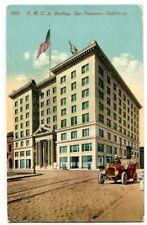 YMCA Building San Francisco California 1910c postcard