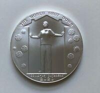 Daniel Carr 2020 Corona Outbreak Hard Times .999 1oz Silver Round w/ Certificate