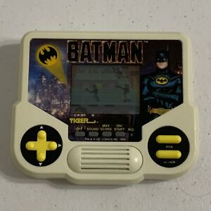 Tiger Electronics LCD Batman Handheld Game - 1988 Vintage- Tested and Working