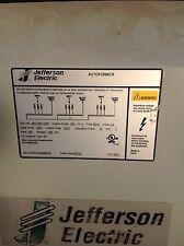 JEFFERSON 150 KVA / 400 AMP 3 PHASE DRY TYPE TRANSFORMER