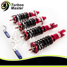Full Assembly Coilovers For 88-91 Honda Civic 90-93 Acura Integra Adj. Damper
