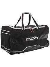Sac CCM Deluxe 370 Wheel senior avec roulettes hockey sur glace et roller hockey