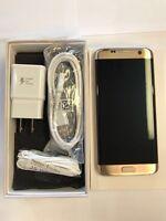 Samsung Galaxy S7 edge SM-G935-32GB - Gold GSM Unlocked (TMobile). Excellent