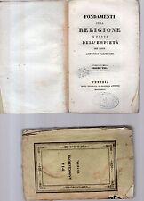fondamenti della religione e fonti dell empieta'-p.antonino valsecchi -vol.ottav