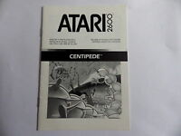 CENTIPEDE ATARI 2600 Notice livret instruction manuel FR