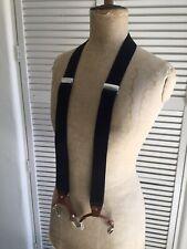 Mens suspenders Black