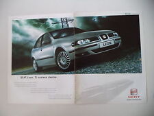 advertising Pubblicità 2001 SEAT LEON