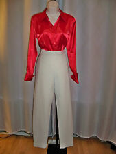 WORTH SOFT BEIGE CHINO RIDING TWILL KYLIE STYLE RIDING PANTS 6 NWT CLASSIC