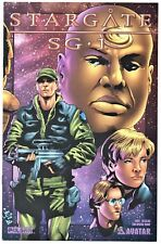 Avatar / Pulsar Press Comic  Stargate SG-1     2004 Con Special Wrap       NM