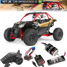 Axial AXI90069 1/18 Yeti Jr. Can-Am Maverick 4WD Brushed RTR w/Radio/Batt /Chagr