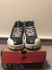 Vintage 1997 Original OG Nike Air Jordan 12 XII Obsidian Blue sz 9 shoes
