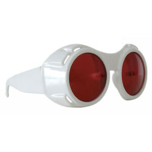 White Hyper Vision Goggles Willy Wonka Sunglasses Costume Depp Movie Adult