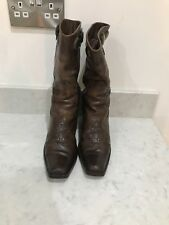 MARNI cowboy Boots size IT 37/UK4