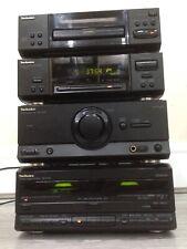 Technics Stereo Hi fi Separates Stack  Cassette  Processor Amplifier CD radio