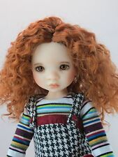 Monique ELLOWYNE ROSE Wig Double Red Size 6-7 YoSD BJD on Avery My Meadow