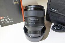 Sony G-Series 85mm F/1.4 GM FE Lens