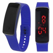LED Sports Digital Watch Unisex Silicone Band Wrist Watches Kids Men Women New